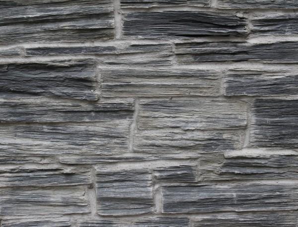 Blue grey natural face stone
