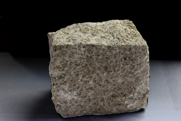 Brown granite sett sample