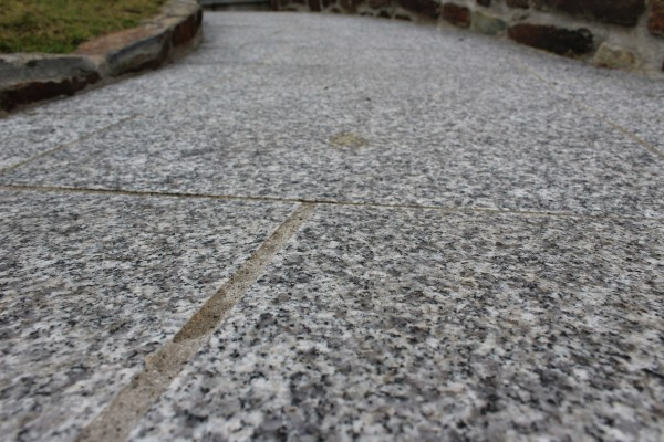 Granite Patio Paving Packs Used To Create A Path