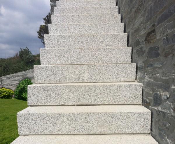 Silver Grey Granite Steps Lantoom Quarry Suppliers Of