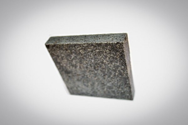 Dark grey granite sample