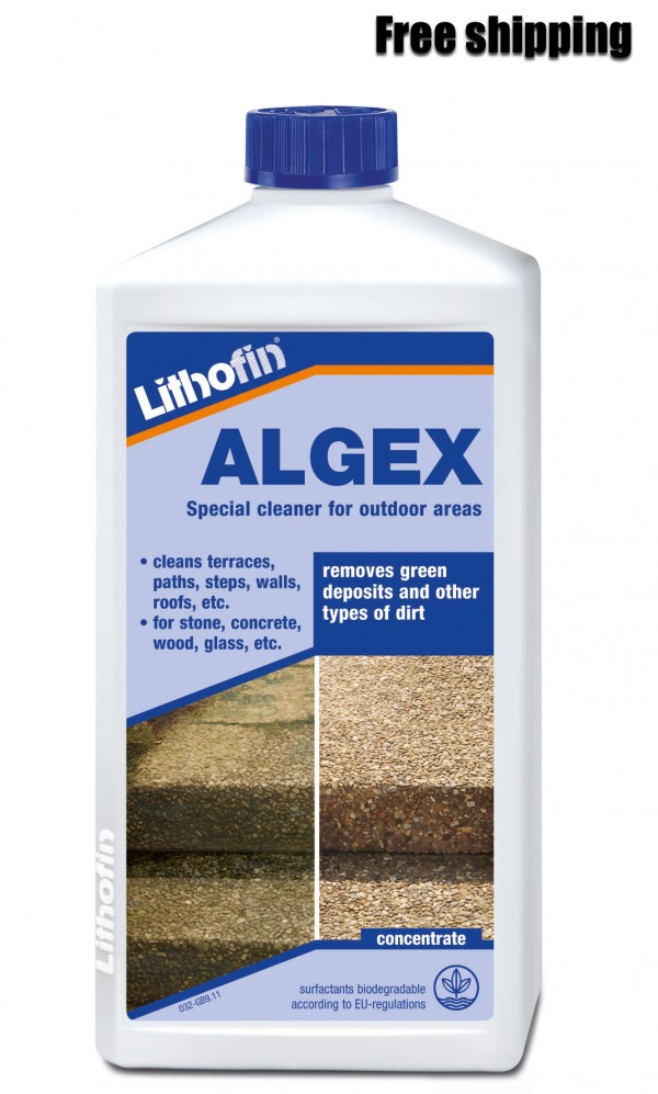 Lithofin stone cleaner for outdoor patio areas