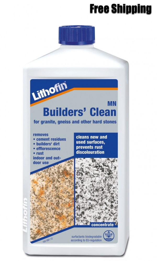 Lithofin strong stone cleaner for patios and driveways