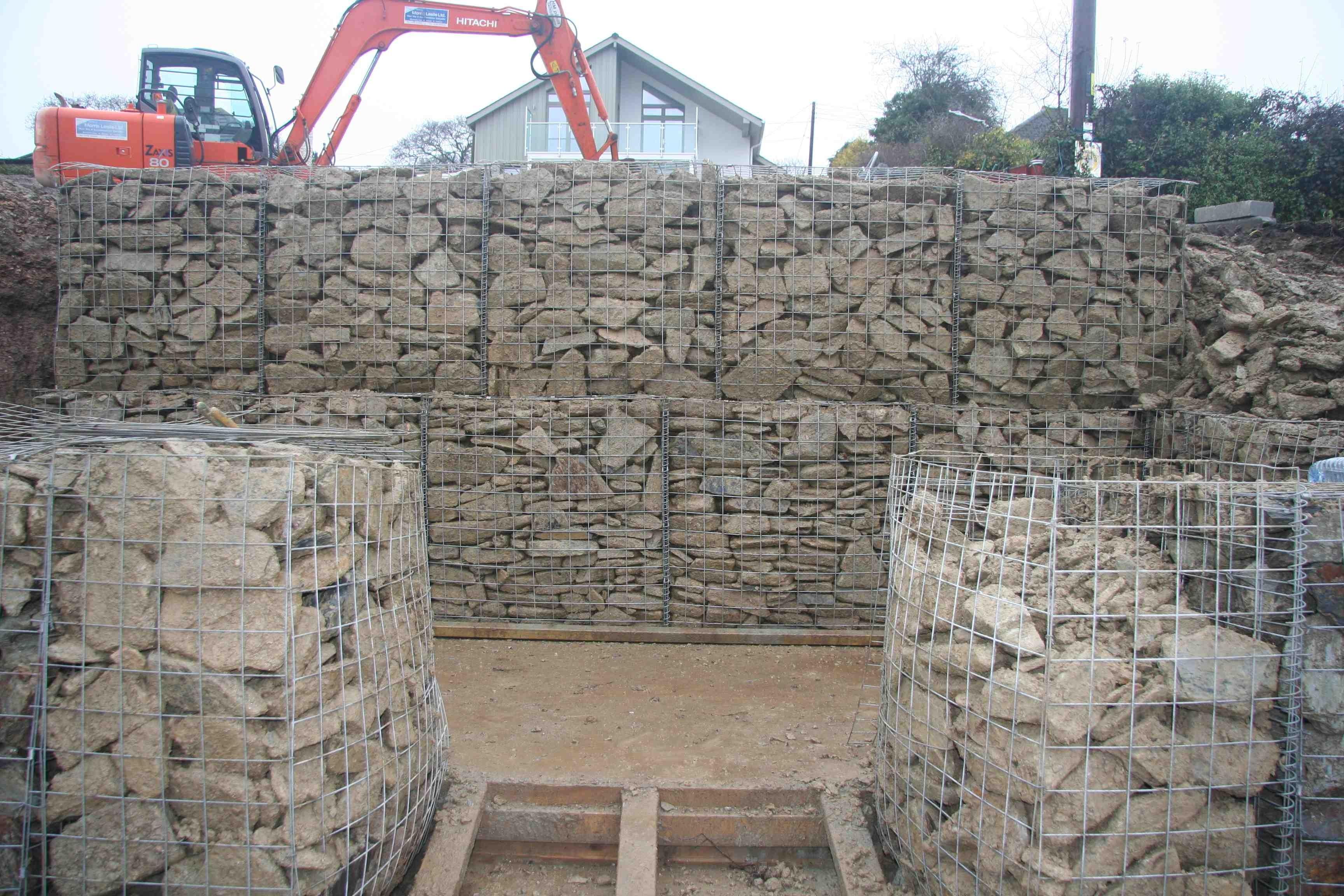 gabion stone. Black Bedroom Furniture Sets. Home Design Ideas