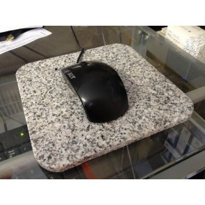 Granite mouse mat