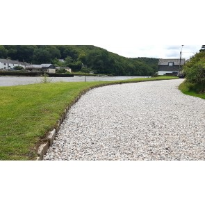 Granite chippings used on a driveway