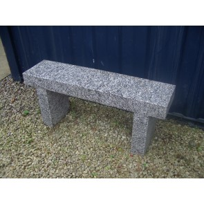 Cornish granite stone bench