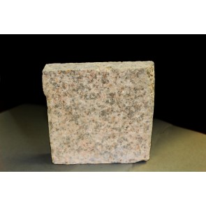 Brown granite paving sample
