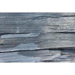 Blue grey natural face stone close up