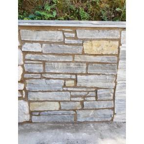 Blue limestone walling (Squared)