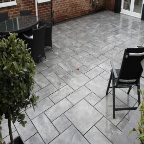 Earth Core porcelain paving slabs
