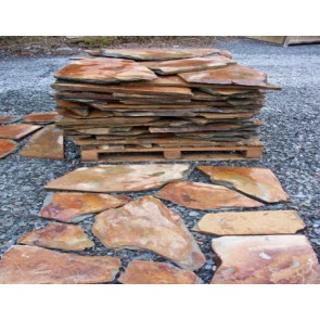 Rustic crazy paving
