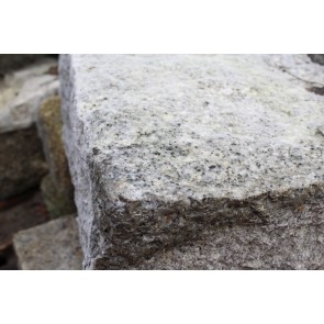 Grey granite quoins