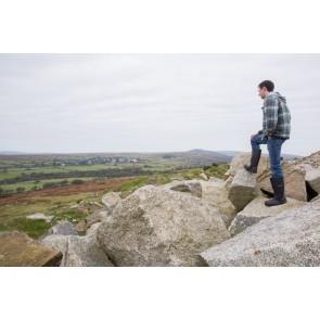 Granite boulders from Caradon quarry