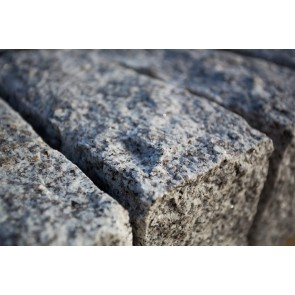 Silver grey granite quoins