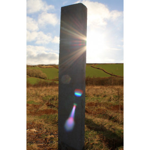 Chinese granite monolith in the sun