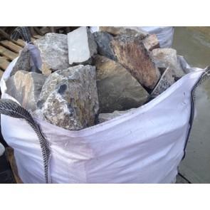 Limestone walling