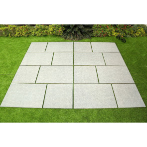 Porcelain paving slabs