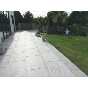 Dark grey granite paving 800X200mm
