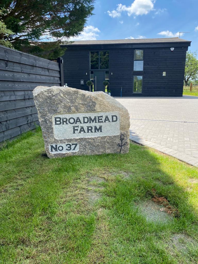 Broadmead Farm granite boulder