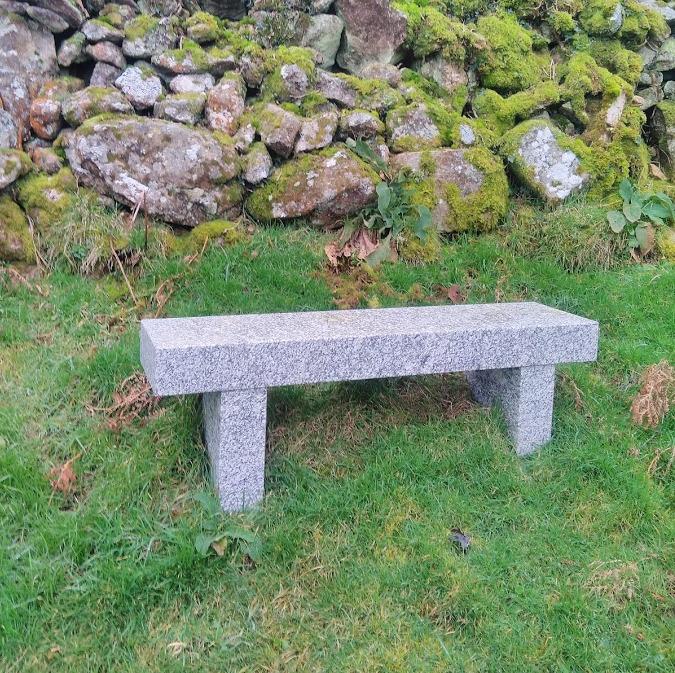 Cornish granite bench