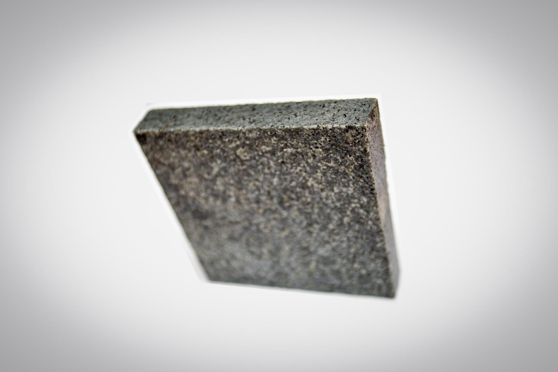 dark grey granite paving sample