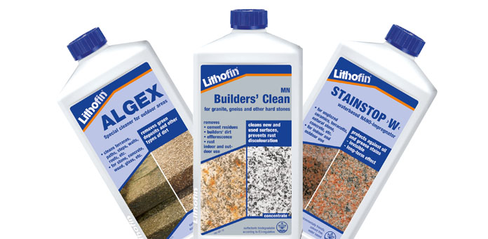 Lithofin sealants and cleaners