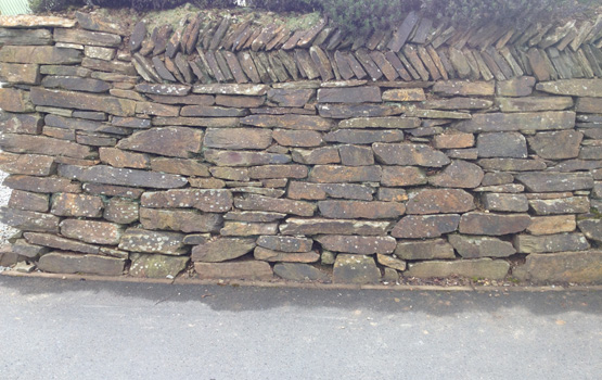 Dry Stone Walls Portfolio Lantoom Quarry Suppliers Of Natural Cornish Slate And Granite Building Stone