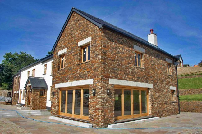 Cornish slate walling stone